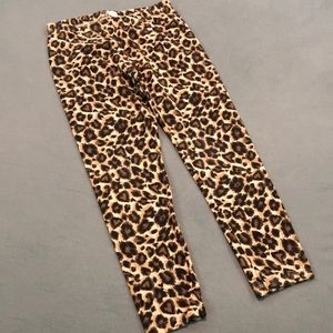 Children's Place leopard print leggings